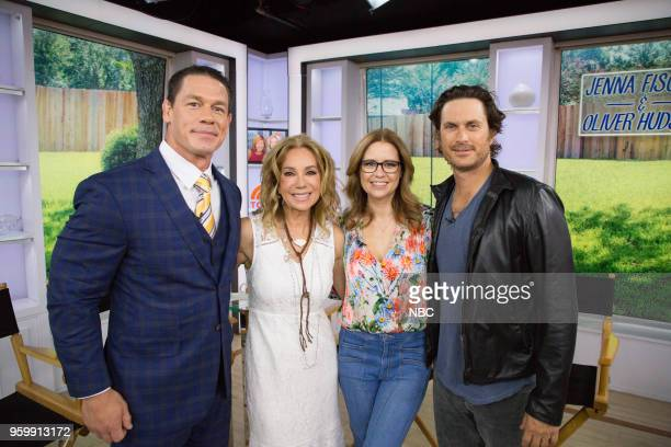 John Cena Kathie Lee Gifford Jenna Fischer and Oliver Hudson on Monday May 14 2018