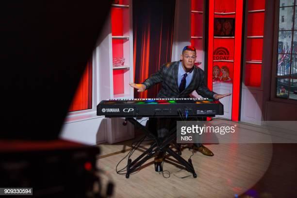John Cena on Monday Jan 22 2018