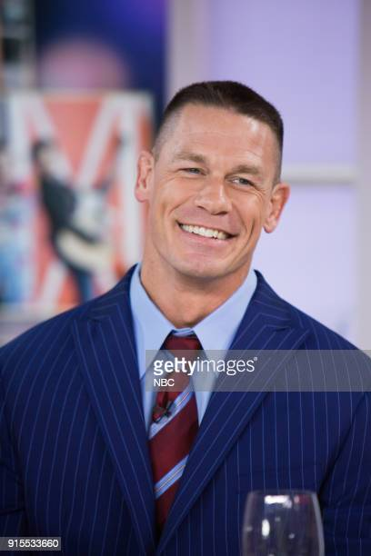 John Cena on Wednesday Feb 7 2018