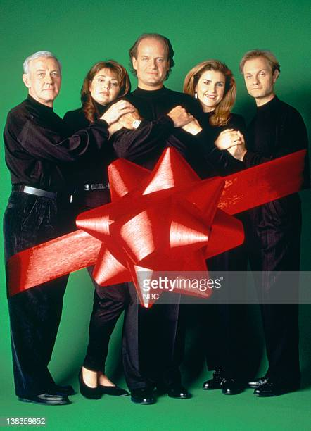 John Mahoney as Martin Crane Jane Leeves as Daphne Moon Kelsey Grammer as Dr Frasier Crane Peri Gilpin as Roz Doyle David Hyde Pierce as Dr Niles...