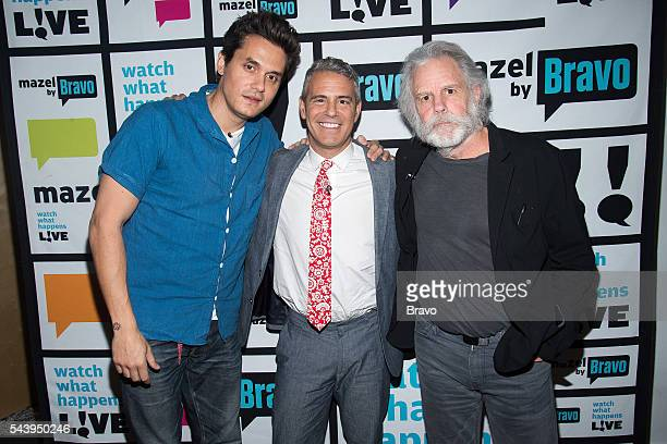 John Mayer Andy Cohen and Bob Weir