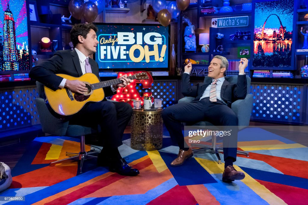 John Mayer, Andy Cohen --