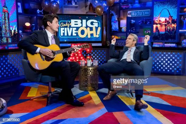 John Mayer Andy Cohen