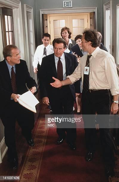 John Spencer as Leo McGarry Rob Lowe as Sam Seaborn Martin Sheen as President Josiah Jed Bartlet Allison Janney as Claudia Jean 'CJ' Cregg Moira...