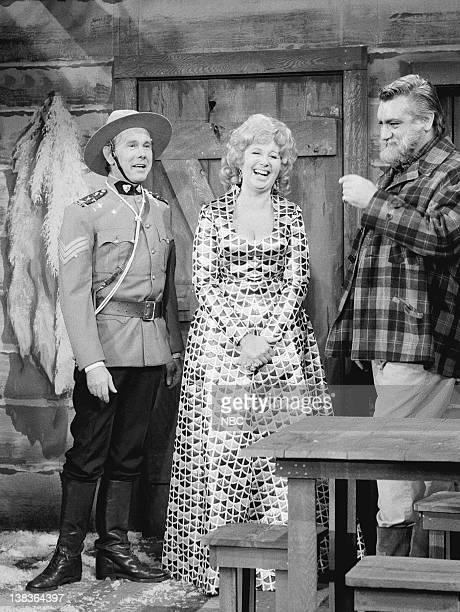 Pictured: Johnny Carson, Beverly Sills, Brad Logan