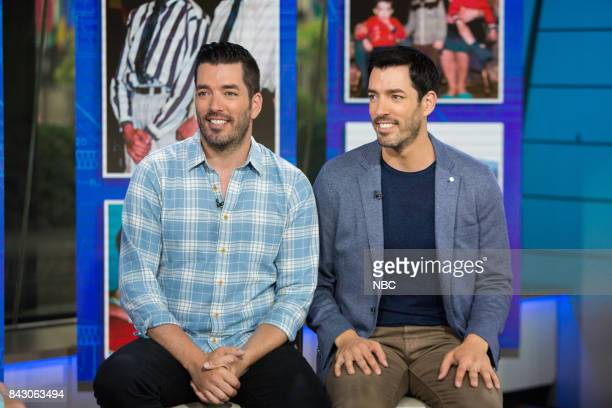 Jonathan and Drew Scott on Monday September 5 2017