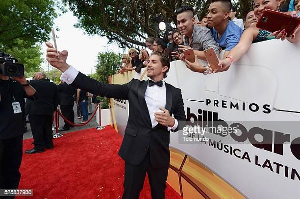 Jonathan Islas arrives at the 2016 Billboard Latin Music Awards at the BankUnited Center in Miami Florida on April 28 2016