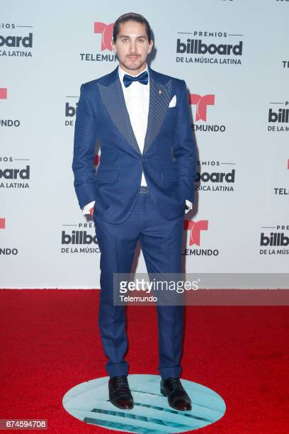 Jonathan Islas on the Red Carpet at the Watsco Center in the University of Miami Coral Gables Florida on April 27 2017