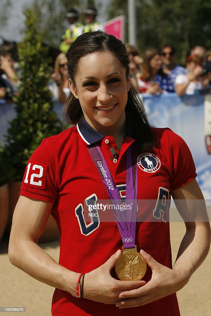 Jordyn Wieber on August 9, 2012 --