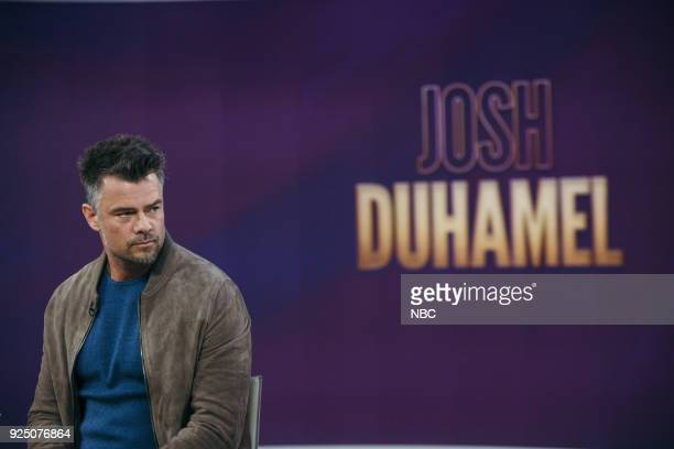 Josh Duhamel on Tuesday Feb 27 2018