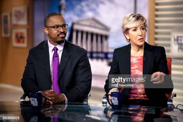 Joshua Johnson Host NPRs 1A and Danielle Pletka SVP Foreign and Defense Policy Studies at the American Enterprise Institute appear on Meet the Press...