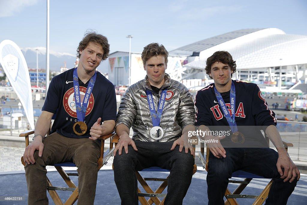 Joss Christenson, Gus Kenworthy, Nick Goepper from the 2014 Olympics in Socci --