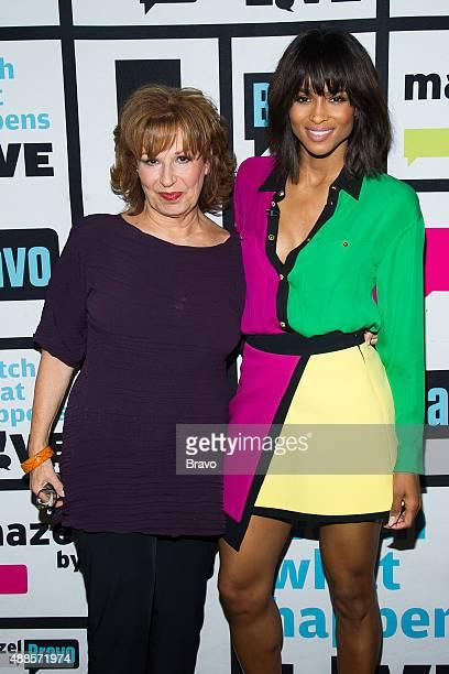 Joy Behar and Ciara
