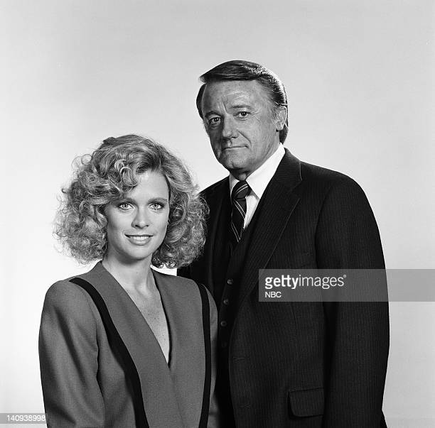 Judith Ledford as Carla Robert Vaughn as General Hunt Stockwell Photo by Gary Null/NBCU Photo Bank