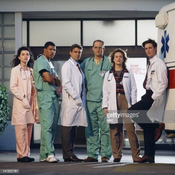 Julianna Margulies as Nurse Carol Hathaway Eriq La Salle as Doctor Peter Benton George Clooney as Doctor Doug Ross Anthony Edwards as Doctor Mark...