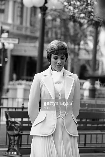 Julie Andrews on Main Street USA in the Magic Kingdom Photo by NBC/NBCU Photo Bank