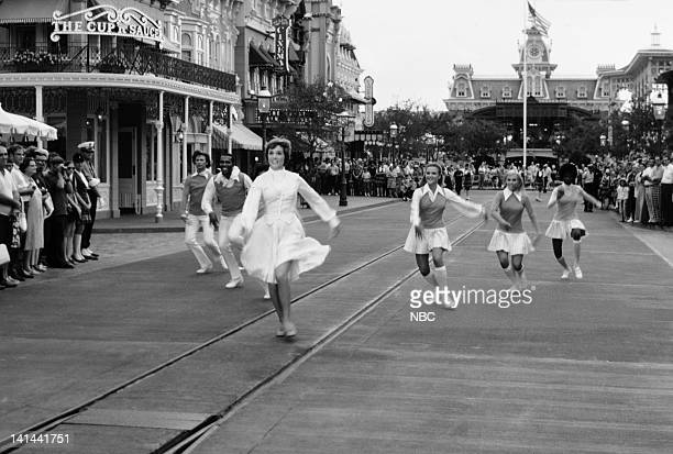 Julie Andrews performs on Main Street USA in the Magic Kingdom Photo by NBCU Photo Bank