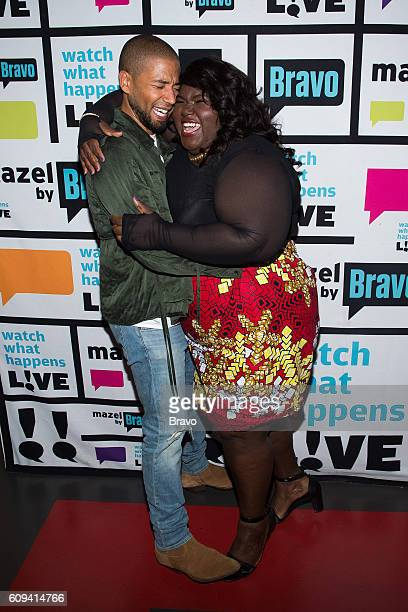 Jussie Smollett and Gabourey Sidibe