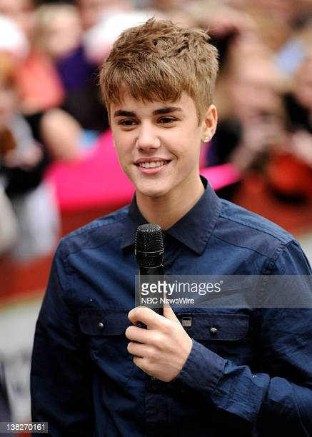 Justin Bieber appears on NBC News Today show