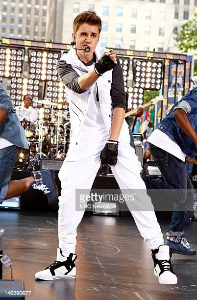 Justin Bieber appears on NBC News' 'Today' show