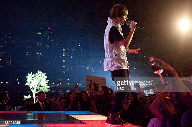 S FOURTH OF JULY FIREWORKS SPECTACULAR Pictured Justin Bieber Justin Bieber rehearses for the Macy's Fourth of July Fireworks Spectacular