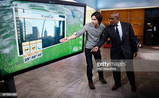 Justin Long and Al Roker appear on NBC News' 'Today' show