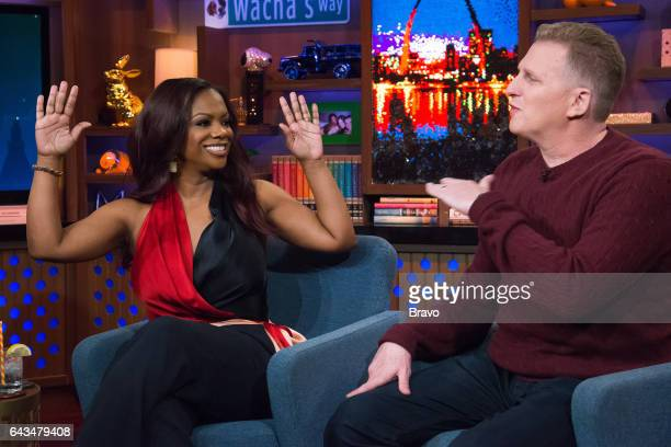 Kandi Burruss and Michael Rapaport