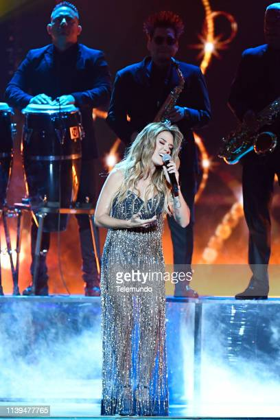 Pictured: Kany Garcia performs at the Mandalay Bay Resort and Casino in Las Vegas, NV on April 25, 2019 --