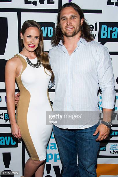 Kara Keough and Kyle Bosworth Photo by Charles Sykes/Bravo/NBCU Photo Bank via Getty Images