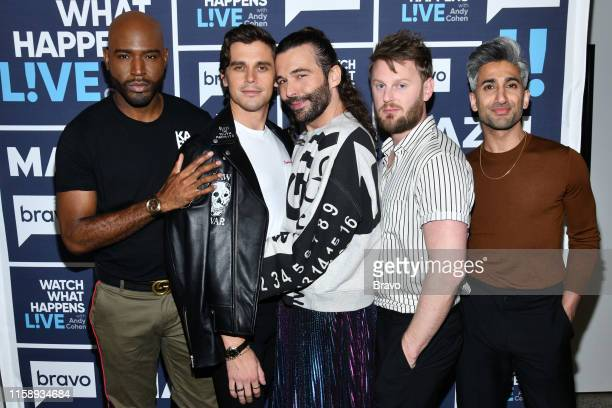 Pictured : Karamo Brown, Antoni Porowski, Jonathan Van Ness, Bobby Berk, Tan France --