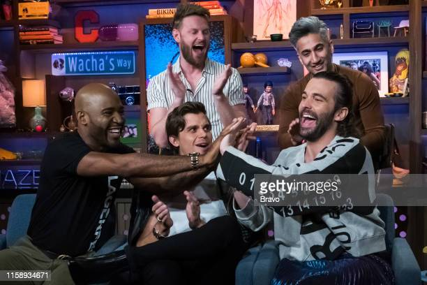 Pictured : Karamo Brown, Bobby Berk, Antoni Porowski, Jonathan Van Ness, Tan France --
