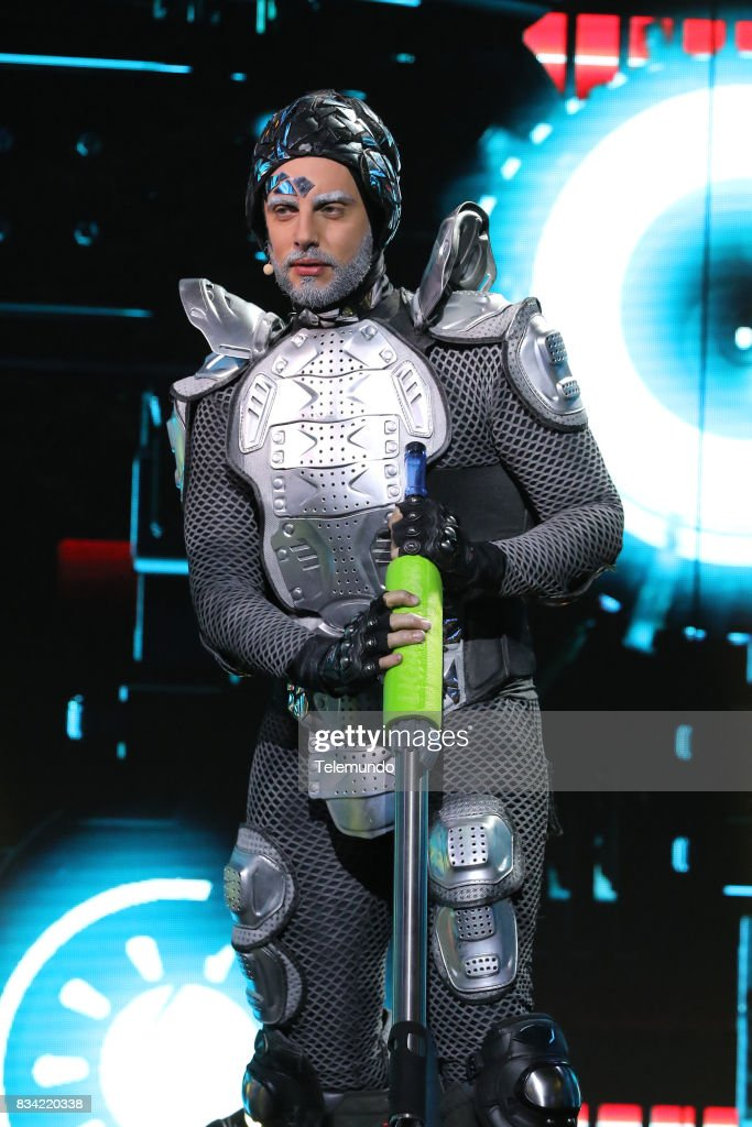 Karlos Anzalotta as the 'Eliminator' --