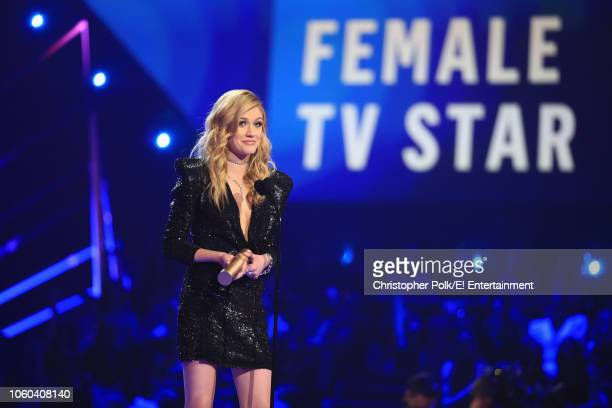 Katherine McNamara onstage during the 2018 E People's Choice Awards held at the Barker Hangar on November 11 2018 NUP_185072