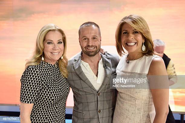 Kathie Lee Gifford Alfie Boe and Hoda Kotb appear on NBC News' 'Today' show