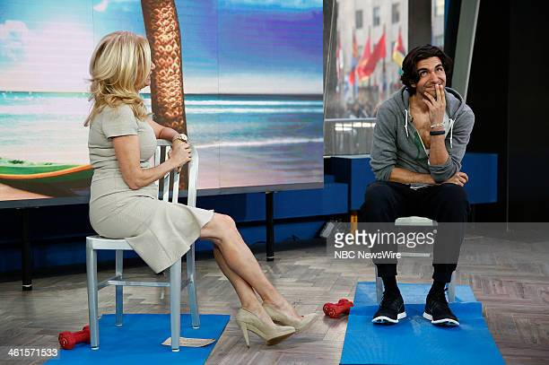 Kathie Lee Gifford and Akin Akman appear on NBC News' 'Today' show
