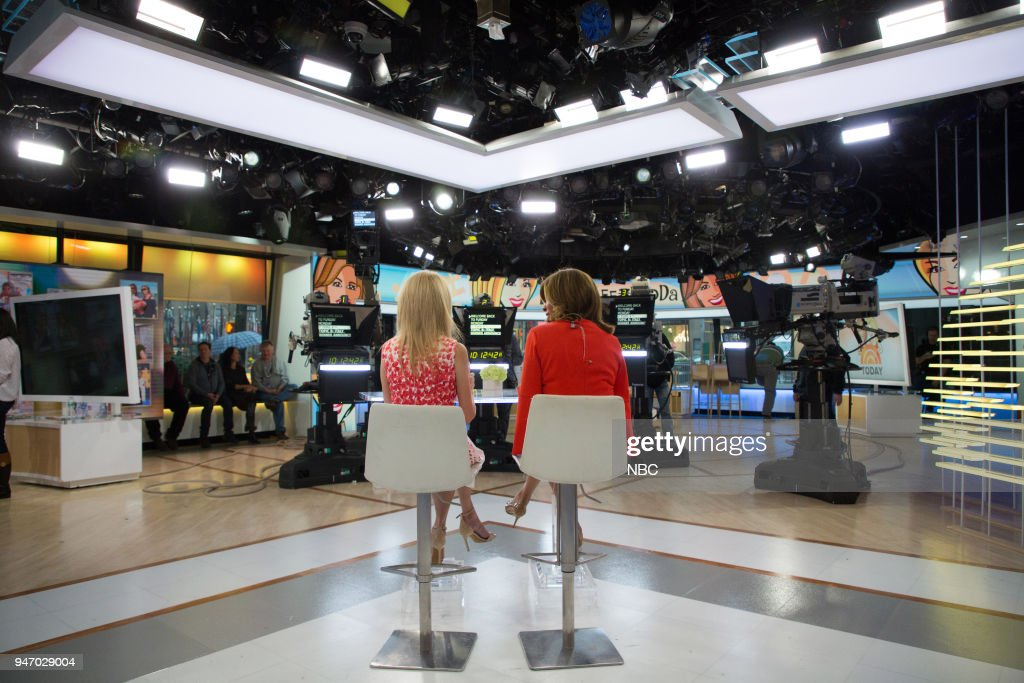 Kathie Lee Gifford and Hoda Kotb on Monday, April 16, 2018 --