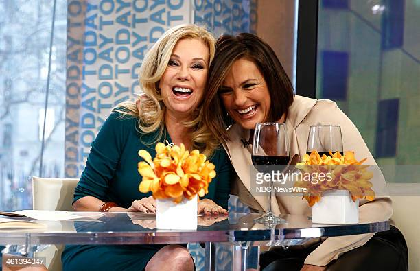 Kathie Lee Gifford and Mariska Hargitay appear on NBC News' Today show