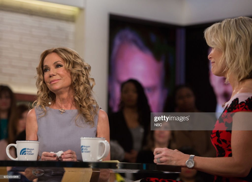 Kathie Lee Gifford and Megyn Kelly on Wednesday, February 21, 2018 --