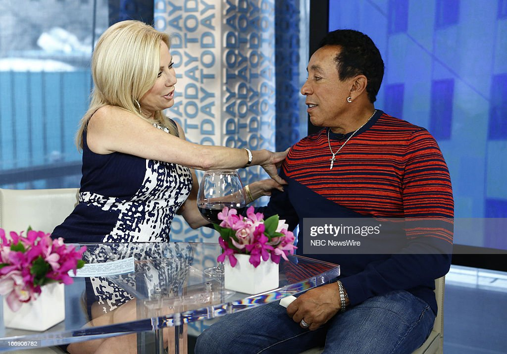 Kathie Lee Gifford and Smokey Robinson appear on NBC News' 'Today' show --
