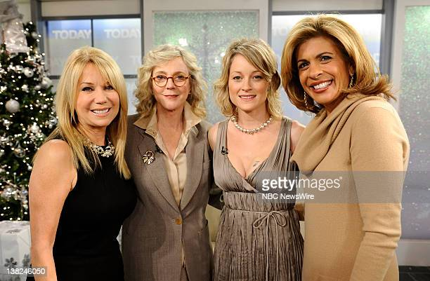 Kathie Lee Gifford Blythe Danner Teri Polo and Hoda Kotb appear on NBC News' 'Today' show