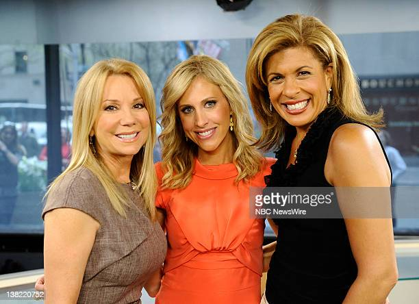 Kathie Lee Gifford Emily Griffin and Hoda Kotb appear on NBC News' Today show