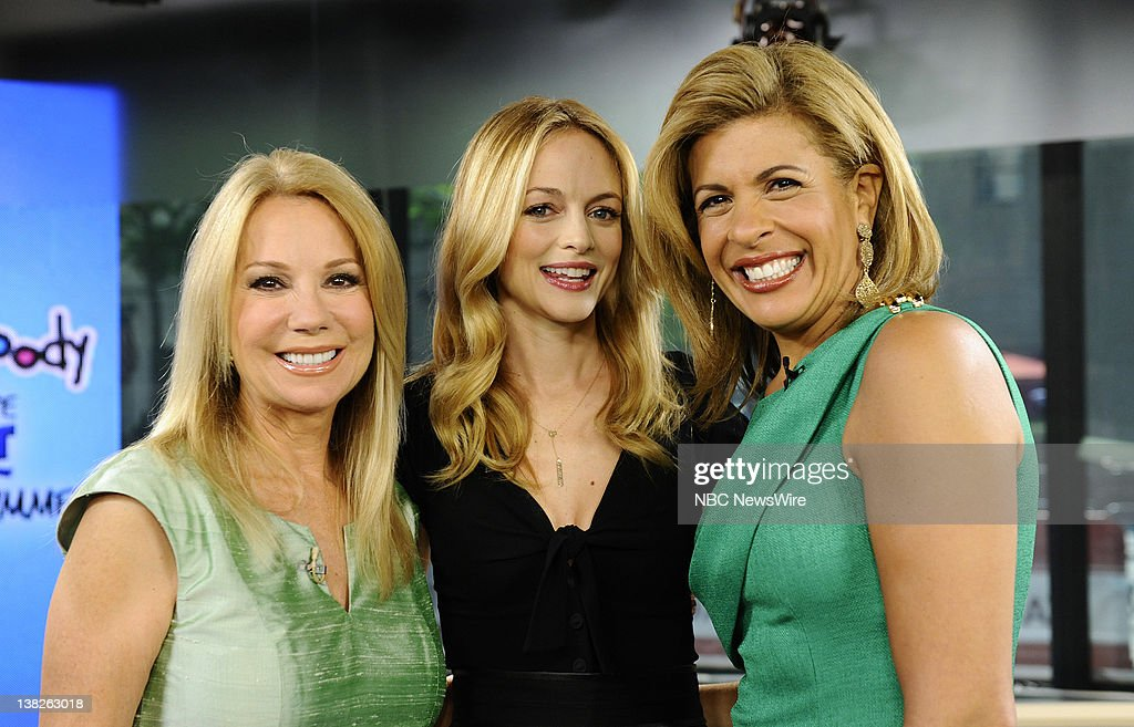Kathie Lee Gifford Heather Graham And Hoda Kotb Appear On Nbc News