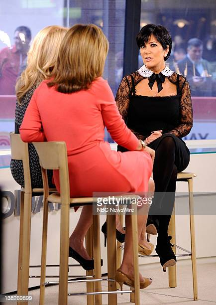 Kathie Lee Gifford Hoda Kotb and Kris Jenner appear on NBC News' Today show