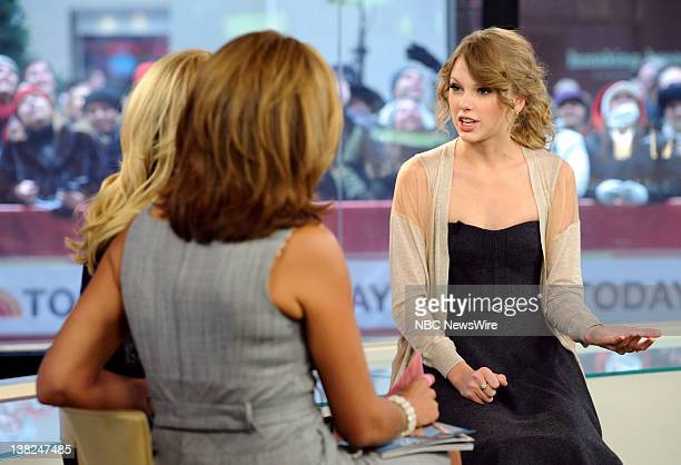 Kathie Lee Gifford Hoda Kotb and Taylor Swift appear on NBC News' 'Today' show