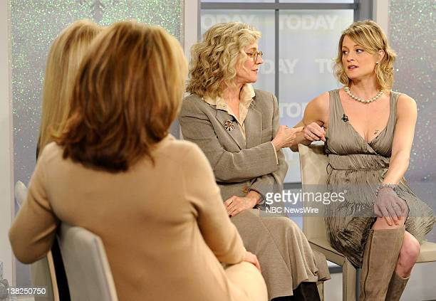 Kathie Lee Gifford Hoda Kotb Blythe Danner and Teri Polo appear on NBC News' 'Today' show