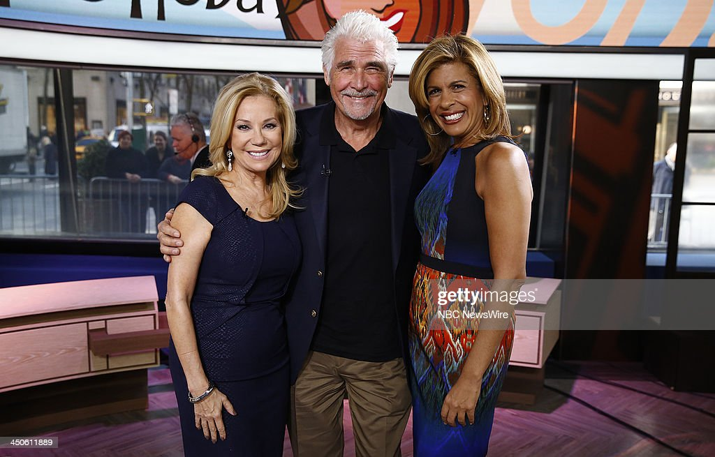 Kathie Lee Gifford, James Brolin and Hoda Kotb appear on NBC News' 'Today' show --