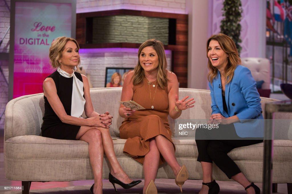 Kathie Lee Gifford, Jenna Bush Hager and Michele Promaulayko on Tuesday, Feb. 20, 2018 --
