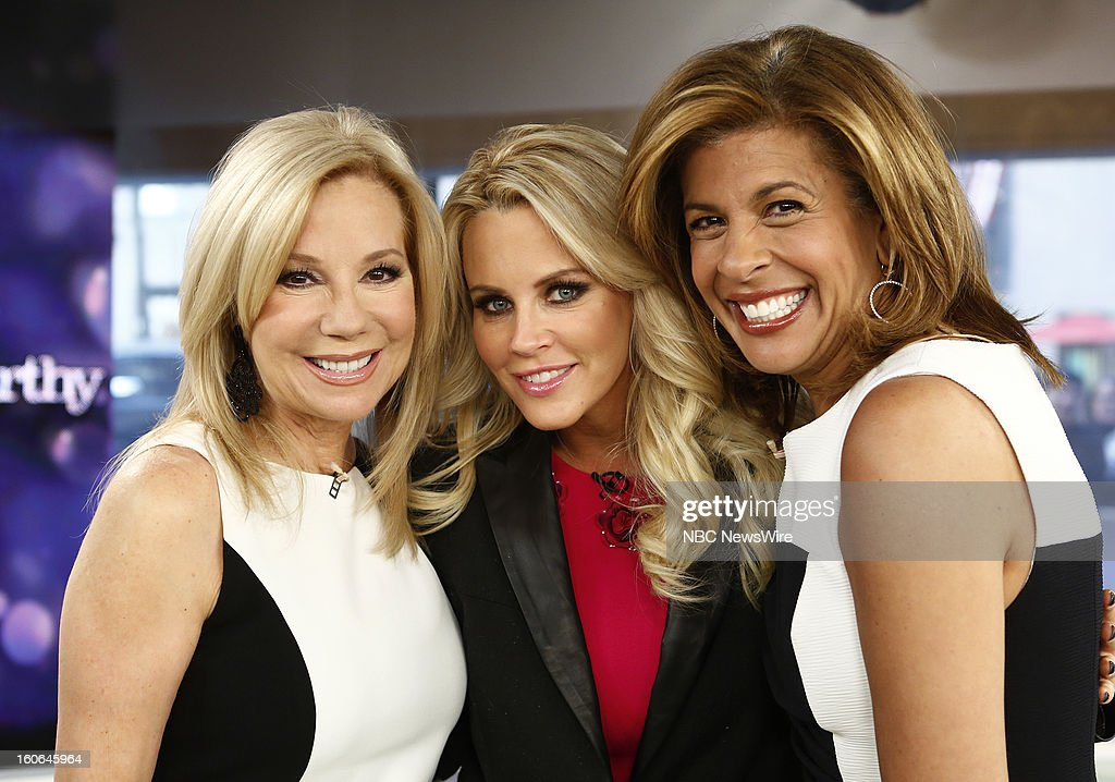 Kathie Lee Gifford, Jenny McCarthy and Hoda Kotb appear on NBC News' 'Today' show --