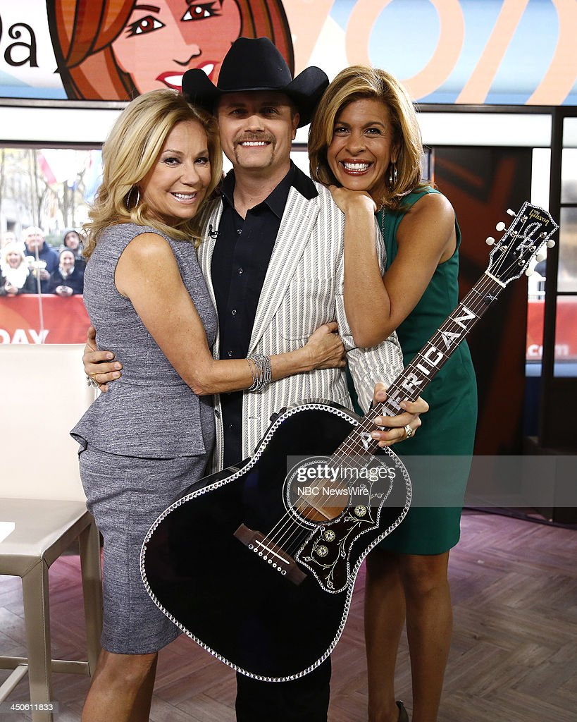 Kathie Lee Gifford, John Rich and Hoda Kotb appear on NBC News' 'Today' show --