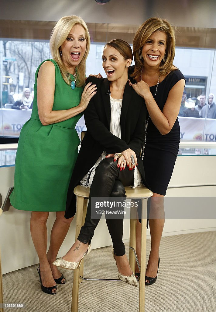 Kathie Lee Gifford, Nicole Richie and Hoda Kotb appear on NBC News' 'Today' show --